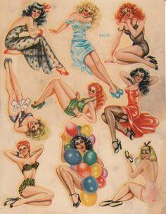 vintage pinups