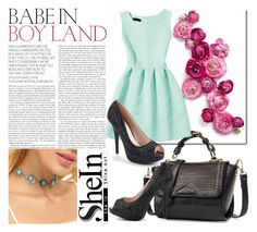 SheIn 2/7 by melissa995 on Polyvore featuring polyvore fashion style clothing