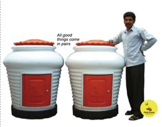 #Aaga #Community #Composter  : This is an outdoor product. It can be kept in open spaces and is weatherproof. It can be placed near the waste-sorting center if your building has that facility or in the basement, terrace or in a corner of the garden/landscaped area.  Please see our parent web site www.dailydump.org for more information on the Aaga and other composting products, contact us on +91 9930800228 for further enquiries  http://mumbaigoesgreen.com/node/367