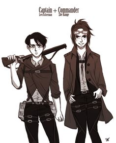 """Erwin: """"Let's put the two weirdest people on planet earth in charge of a revolution."""""""