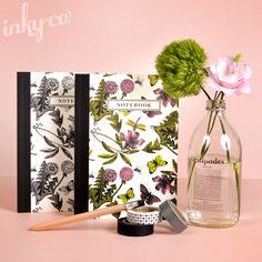 Inky Co. Environmental Botanical Notebooks
