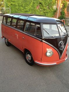 1954 VW Barndoor 23 Window Deluxe. 14,000 k, Original
