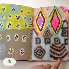 Experiments in visual journal - Mary Ann Moss