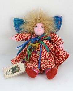 """Limited Edition Pinkneydell Doll - """"Magsy"""" £12.95"""
