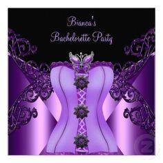 Bachelorette Party Themes purple | Bachelorette Party Supplies. Decorations, Party favors and Bridal ...