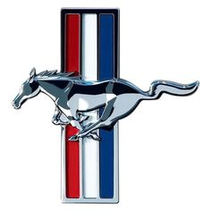 Put a pony in your garage with this classic Ford Mustang Emblem Tin Sign. Ideal for any garage that houses a classic 'stang! Ford Mustang V6, Mustang Club, Mustang Girl, 2006 Mustang, Shelby Mustang, Mustang Boss, Mustang Fastback, Car Ford, Ford Lincoln Mercury