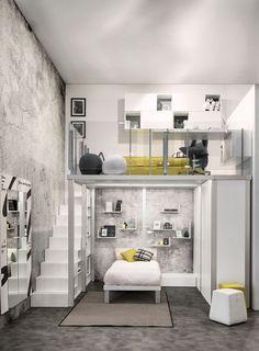 cute and elegant teen room decor ideas 6 « A Virtual Zone Cool Teen Bedrooms, Cool Kids Rooms, Awesome Bedrooms, Girl Bedrooms, Modern Teen Room, Room Ideas For Girls, Romantic Bedrooms, Small Room Bedroom, Bedroom Loft