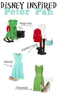 Outfits Inspired by Disney's Peter Pan