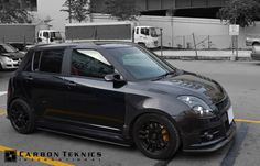 July 2014, Full carbon swift sports with TM style carbon fenders, CS style carbon hood and many other parts. Picture 02
