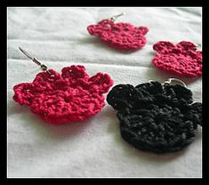 Ravelry: Paw Print Earrings pattern by Shelly Salinas