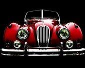 Vintage Classic 1956 Jaguar 140 photo
