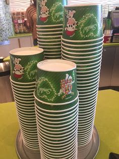 Holiday 2016 cups at Menchie's
