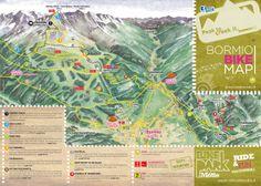 BORMIO Italy Map bormio map Bormio Pinterest Italy