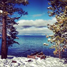 @thekjrm spending New Year's weekend in Lake Tahoe