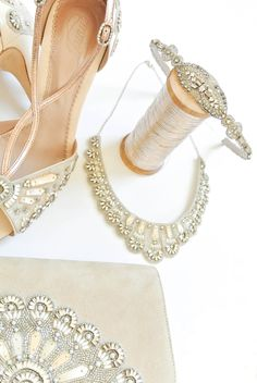 Emmy london bridal shoes and accessories blue wedding shoes fan emmy london francesca bridal shoe and accessory collection with teardrop band francesca necklace and francesca junglespirit Gallery