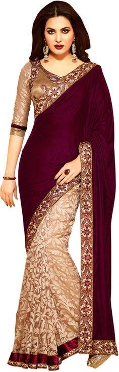 Bollywood Latest Designer Cocktail Ethnic Wedding Party Wear Sari Indian Pakista #sunrisefashions #Bollywood