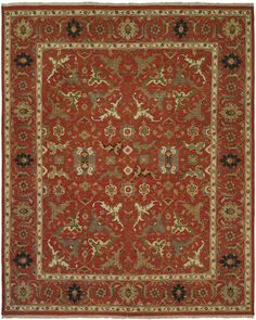 Perfect for any highly visible space, the Octavius traditional area rug embraces an elegant floral design and an innovative palette. Available in a range of beautiful color options, this fantastic creation will enrich the ambiance in any interior. http://www.cyrusrugs.com/cyrus-artisan-item-7176&category_id=0