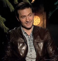 GIF of Richard laughing ~ He's just so CUTE!