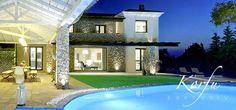 Villa Piedra, Perama / Korfu Mitte - Ferienhaus der Luxusklasse zu mieten bei Korfu Exklusiv