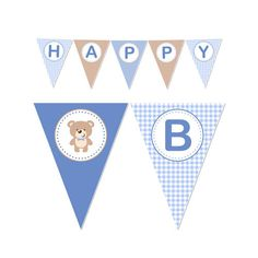 PRINTABLE Boy or Girl Teddy Bear Party Banner by DaysignsbyDay