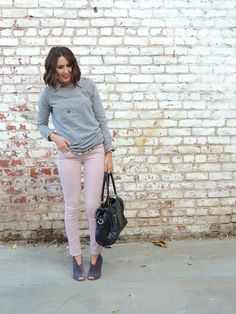 Grey + Pink