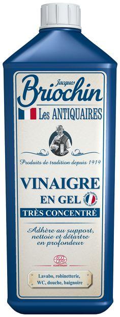 Vinaigre en Gel Très Concentré Les Antiquaires par Briochin