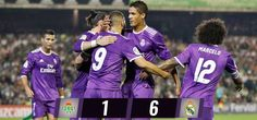 Real Betis 1-6 Real Madrid