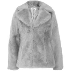 Jakke Charlie Fur Coat ($91) ❤ liked on Polyvore featuring outerwear, coats, jackets, coats & jackets, fur coat and jakke