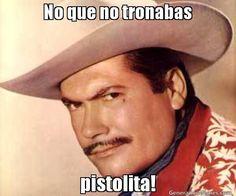 No que no tronabas pistolita! | PIPORRO meme | Crear Memes | Generador de Memes