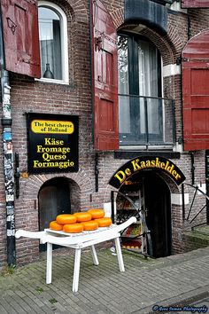 Netherlands, Amsterdam, Cheese Shop (Delicious cheeses in this shop close to the flowers market)