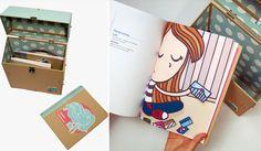 Portfolio Book & Box by Natalia Ultremari, via Behance