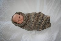 I LOVE this baby stork sack and wish I had had one when my guy was a newborn. This is a very simple knit. It's a great project to kn...