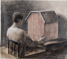 Michaël Borremans, The House of Opportunity, 2004