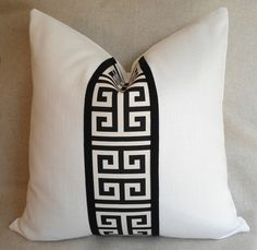 RESERVED for Ashley - PAIR of 18 x 18 Pillow Covers. $90.00, via Etsy.