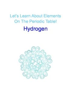 A fun a simple way to learn about an element on the table.