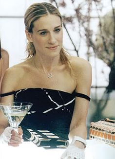 Carrie Bradshaw: was obsessed with this necklace for awhile :)