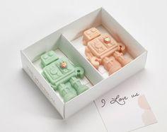 Ich liebe uns belgische Schokolade Roboter von WhimsicalCakeCompany