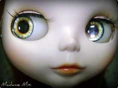 by ***MADAME MIX*** @ flickr   ~ I have no idea how many Blythe dolls Madame Mix has, but i'm quite envious!