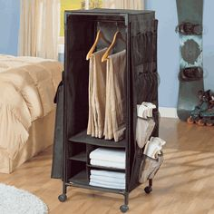 Dorm Storage Wardrobe. Find other great dorm room items & deals here: http://www.studentrate.com/itp-Dorm_Room-Deals