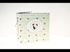 Vídeo tutorial: mini álbum acordeón con papel kraft
