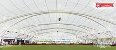 panoramic panorama, inside shot, award winning, LTWSAS Light Weight Structures architectural solutions, Widespan, East Cessnock Bowls Club, Crescent configuration, beautiful fabric architecture, tensile membrane, two playing fields, large bowling green canopy, IfAI industrial fabrics association international.