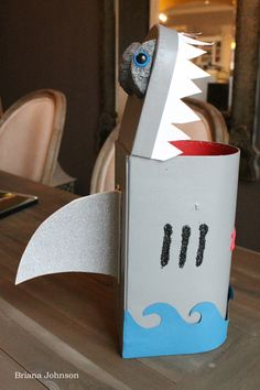 Paper Lust: A Boys Life: A Shark Box & A Wolf Tail | New Vintage Treasures