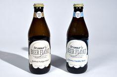 Brummer's Beer Float by Paige Brummer, via Behance
