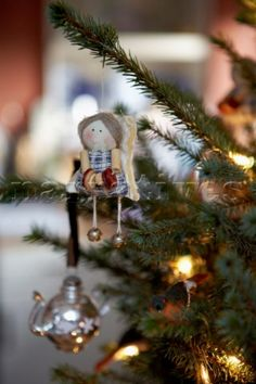 Handmade Christmas tree angel