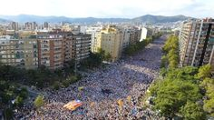 Catalan independence rally draws crowds in Barcelona - bbc.com, 11 September 2015