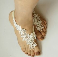 Kimsically barefoot sandals