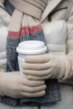 Grab a coffee to go before you set off on an Alaskan Cruise Excursion #Alaska #StayWarm