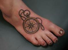 compass tattoo - Google Search  LOVE the idea of this.