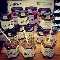 Ta-dah! Here they are, our brand new products, a fabulous trio of jellies!