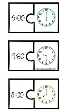 Telling+Time+Puzzle+page.jpg (354×581)